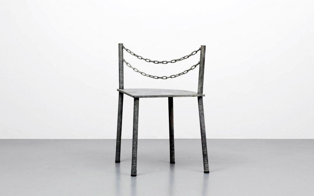 Rei Kawakubo's Furniture Exhibited in Paris